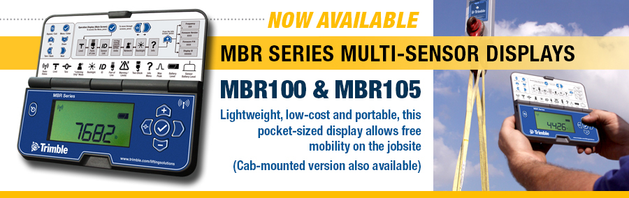 The MBR Series Displays MBR100/MBR105